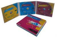 Estuche 3CD Digipack 3 palas DP3 02P01