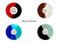 Funda Vinilos colores V HALF HALF P01